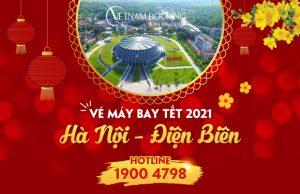 Vé máy bay Tết 2021 Hà Nội đi Điện Biên giá rẻ