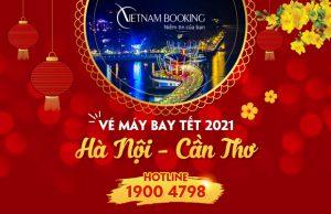 Vé máy bay Tết 2021 Hà Nội đi Cần Thơ giá rẻ