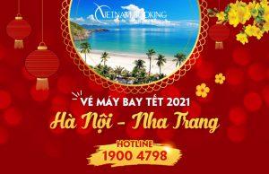 Vé máy bay Tết 2021 Hà Nội đi Nha Trang rẻ nhất | Chỉ từ 399.000Đ