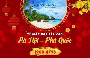 Vé máy bay Tết 2021 Hà Nội đi Phú Quốc rẻ nhất