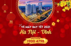 Vé máy bay Tết 2021 Hà Nội đi Vinh giá rẻ