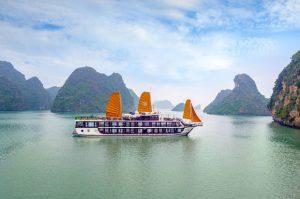 Du thuyền Peony Cruises Lan Hạ – Hạ Long