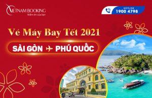 Vé máy bay Tết 2021 Sài Gòn đi Phú Quốc giá rẻ