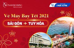 Vé máy bay Tết 2021 Sài Gòn đi Tuy Hòa giá rẻ