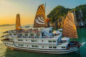 Du thuyền Bhaya Cruises Hạ Long