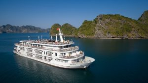 Combo 2N1Đ Du thuyền Paradise Elegance Hạ Long 5* + Xe khứ hồi