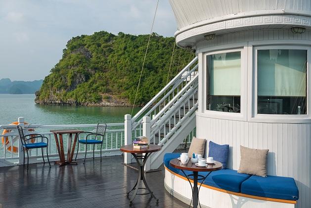 Combo Du thuyền Paradise Luxury Hạ Long 5 sao