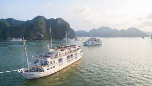 Combo 2N1Đ Du thuyền Paradise Luxury Hạ Long 5* + Xe khứ hồi