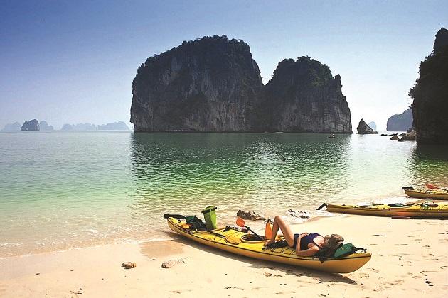 Du thuyền Sena Lan Ha Bay - Thuyền Kayak