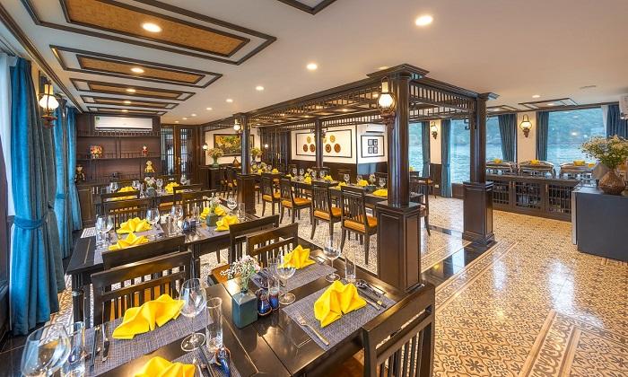 Du thuyền Sena Lan Ha Bay - Nhà hàng