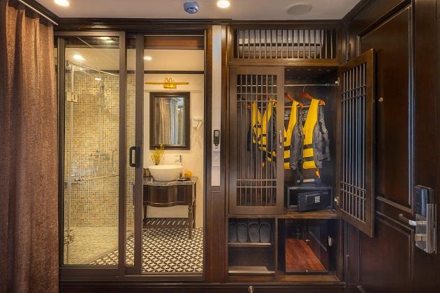 Du thuyền Sena Lan Ha Bay - Deluxe Cabin