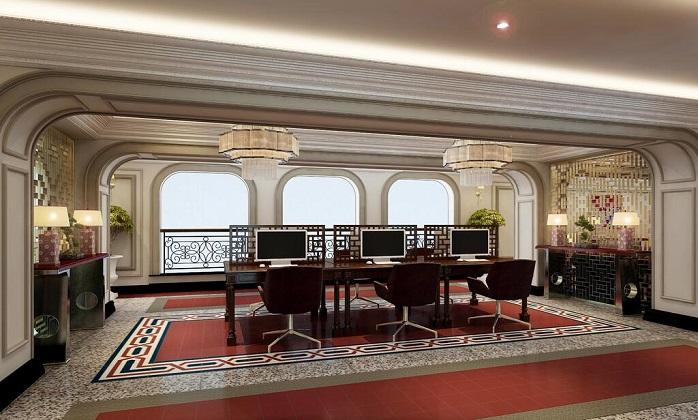 Silk Path Grand Huế Hotel & Spa - Tiếp tân