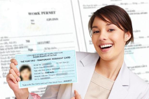 Thủ tục xin cấp thẻ tạm trú cho thân nhân người nước ngoài đơn giản