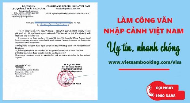 Công văn nhập cảnh là gì? Những thông tin cần biết về công văn nhập cảnh Việt Nam