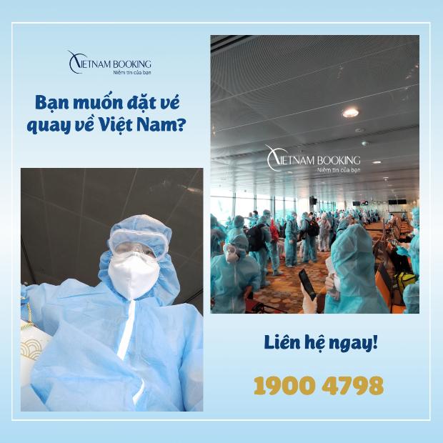 chuyến bay từ Úc về Việt Nam