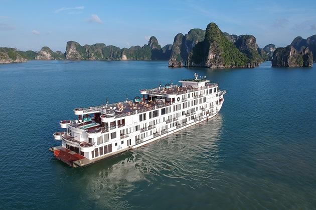 Du thuyền President Hạ Long