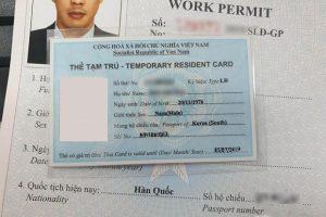 Toàn bộ thủ tục cấp lại thẻ tạm trú cho người nước ngoài