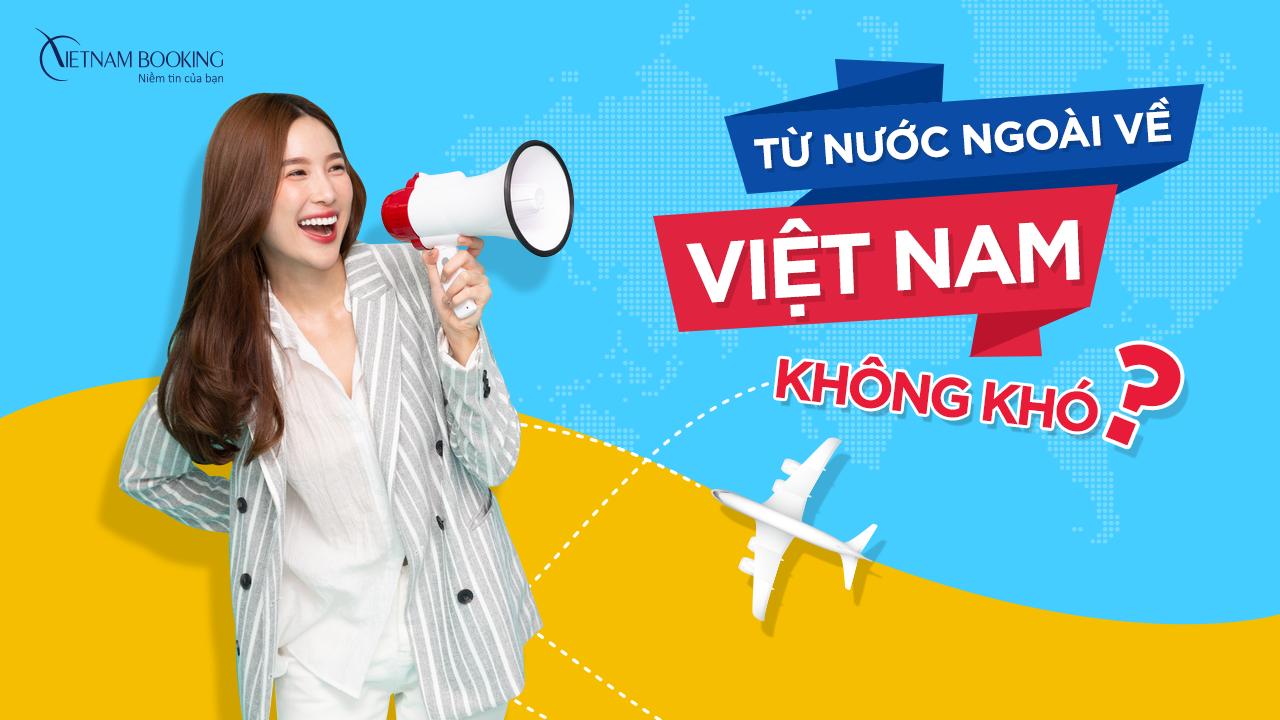 chuyến bay từ Ngavề Việt Nam