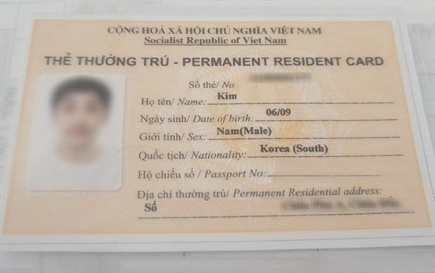 Dịch vụ làm thẻ thường trú cho người nước ngoài uy tín, giá tốt
