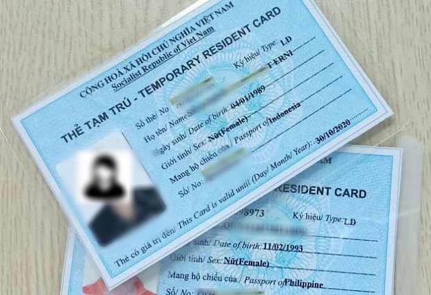 Hướng dẫn làm thẻ tạm trú cho người nước ngoài | Chia sẻ chi tiết ít người biết
