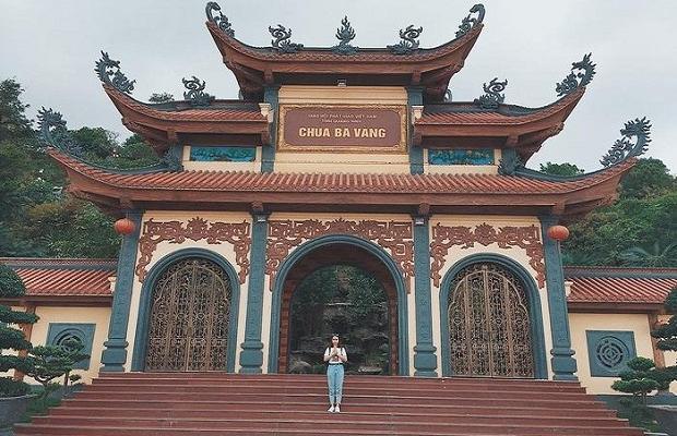 Tour Yên Tử Chùa Ba Vàng 2N1Đ | Hành hương chiêm bái đức Phật