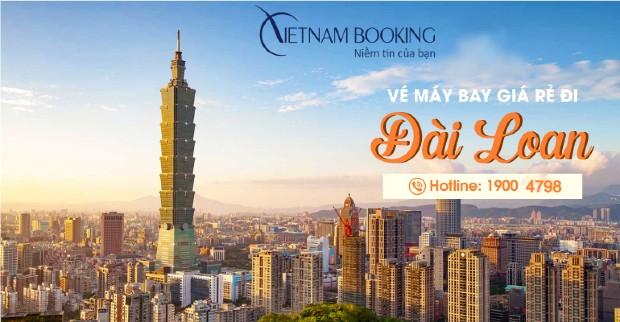 Tìm vé máy bay giá rẻ đi Đài Loan