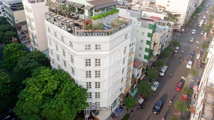 Combo Khách sạn A&Em Sài Gòn Lê Thánh Tôn