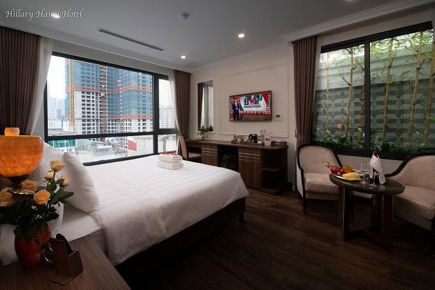 Combo Khách sạn Hillary Hà Nội