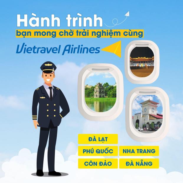 vé máy bay Vietravel Airlines giá rẻ