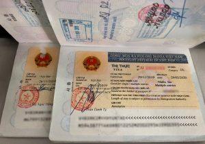 Công văn nhập cảnh Việt Nam cho người nước ngoài