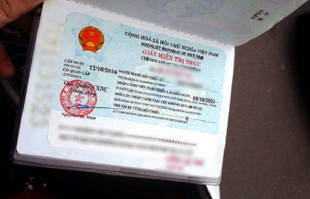 Giấy miễn thị thực Việt Nam là gì? Hồ sơ xin giấy miễn thị thực