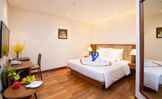 Combo 3N2Đ Khách sạn Green Beach Nha Trang