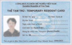 Quá hạn thẻ tạm trú của người nước ngoài và cách giải quyết
