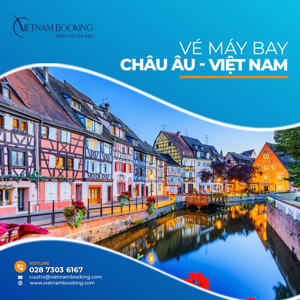 Cập nhật các chuyến bay từ Châu Âu về Việt Nam – Lịch bay hàng tháng