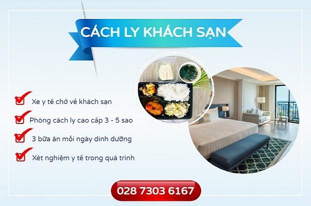 Hành trình về nước cách ly khách sạn 14 ngày của khách hàng tại Vietnam Booking