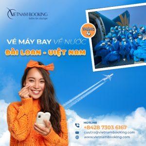 [Gấp] – Chuyến bay từ Đài Loan về Việt Nam – Lịch bay tháng 4