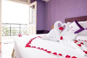 Combo Đà Lạt Honeymoon Khách sạn TTC Ngọc Lan + Vé máy bay