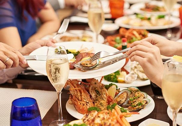 Combo Buffet Caravelle Sài Gòn 5 sao