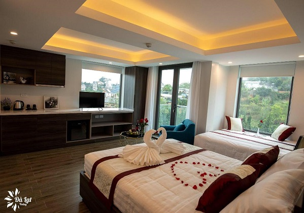 Combo Khách sạn Redpine Đà Lạt