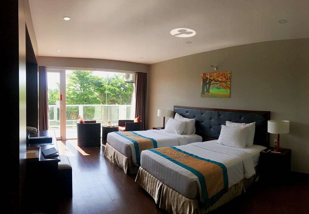 Combo Khách sạn Mũi Né Sandunes Beach Resort Spa