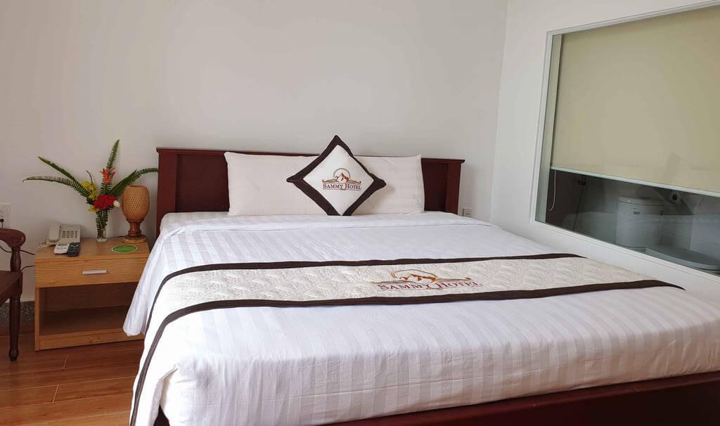 phòng ngủ Aquaki Resort & Spa - khách sạn Hà Tiên