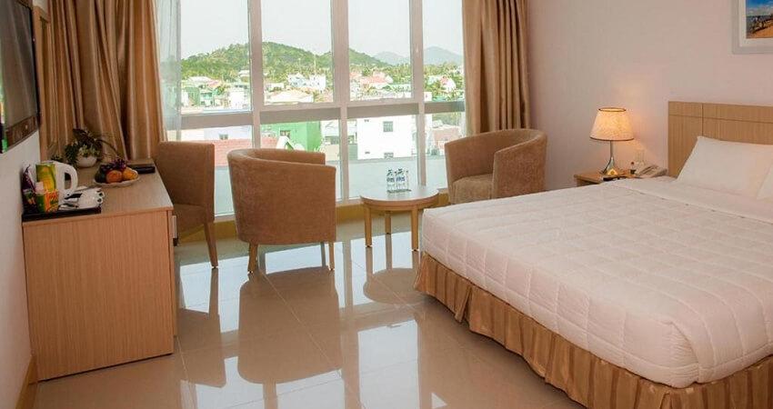 phòng ngủ khách sạn River Hà Tiên - khách sạn Hà Tiên