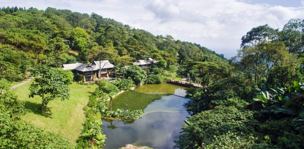 khách sạn trong vườn quốc gia ba vì