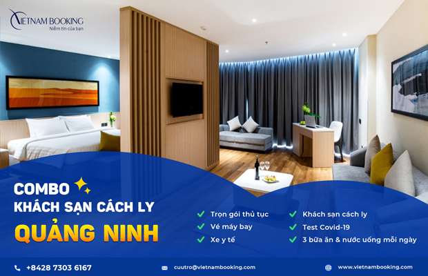 Combo Khách sạn cách ly 21 ngày tại Quảng Ninh