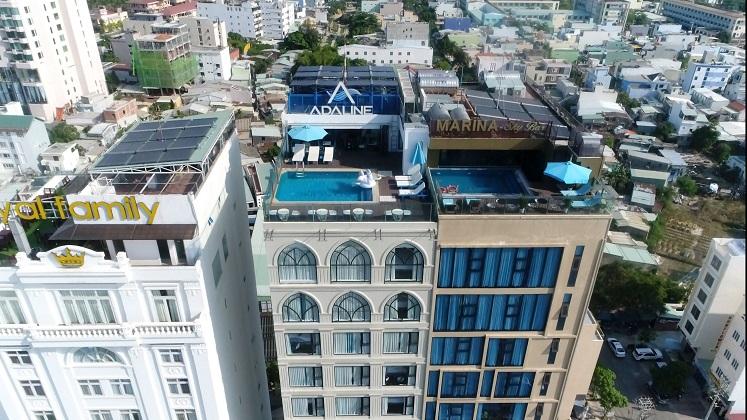 Combo Khách sạn Adaline Hotel and Suites Đà Nẵng