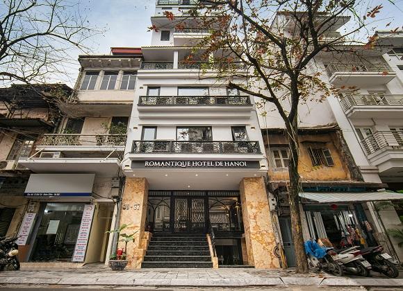 Combo Khách sạn Hà Nội Romantique