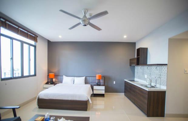 Phòng ngủ khách sạn Mỹ Khê 2 Đà Nẵng