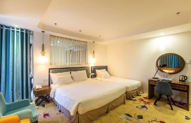 Phòng ngủ của Adaline Hotel and Suite Đà Nẵng - khách sạn Sơn Trà