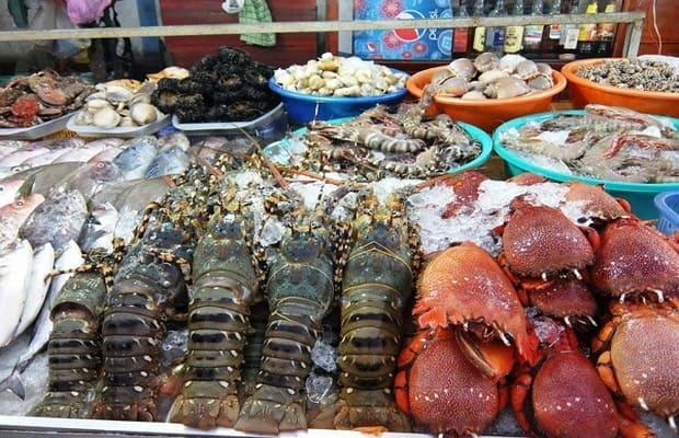 Hải sản - khách sạn Sơn Trà