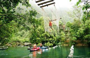 Tour Quảng Bình 2 ngày 1 đêm | Động Thiên Đường – Suối nước Moọc – Đá Nhảy – Đèo Ngang